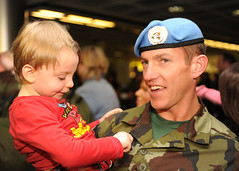 104 Battalion reunited with family