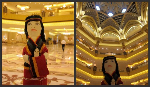 Sandy Iggy in Emirates Palace