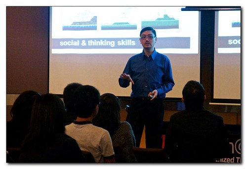 Dr Ashley Tan sharing Angry Birds by TEDxSingapore, on Flickr
