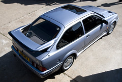Sierra Cosworth (Simon Didmon) Tags: road ford out shoot fast sierra turbo rs rolling mag cosworth rs500