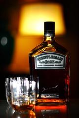 The Big 1.75L Bottle (jomak14) Tags: canon whiskey 580ex fridaycheers gentlemanjack eos1ds speedlite 420ex alcoholasstilllife canonef85mmf18usm strobist offcameralighting offcamerastrobe ste2transmitter canonef85mmf18iiusm byjackdanielsltd