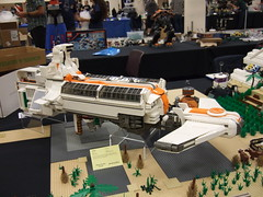 The Ark (The Acquaintance Crate) Tags: ship lego 2421 brickcon numereji