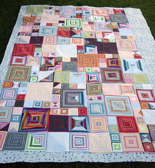 shirt stripe boxes quilt