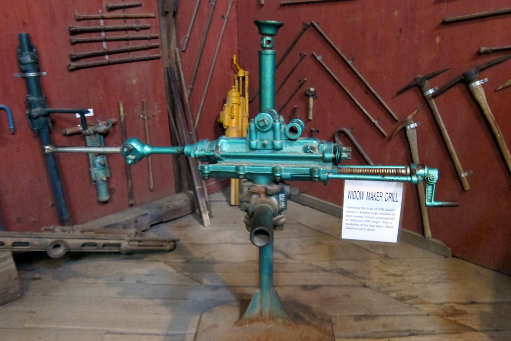 Colorado - Idaho Springs: Argo Gold Mine and Mill - Widow Maker Drill