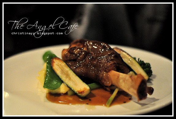 The Angel Cafe: Lamb Shank