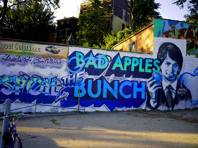 good apples better the bunch
