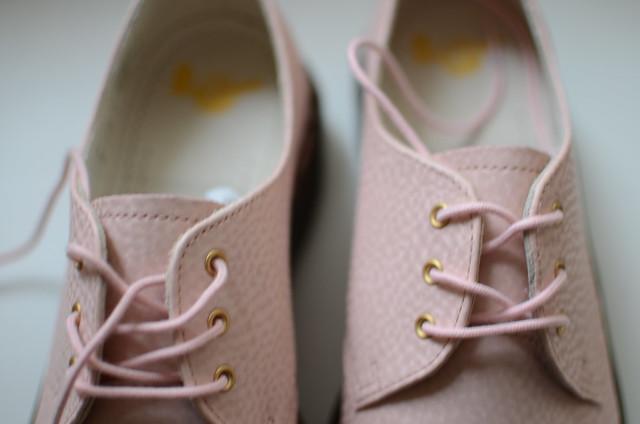 Pink martens