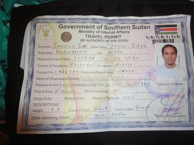 South Sudan visa