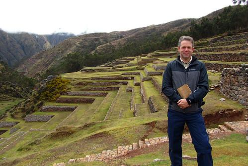 Incan terraces at Chinchero, Peru