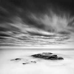 Two Minutes Under a Real Storm (120 Seconds) (DavidFrutos) Tags: longexposure bw costa seascape storm beach water monochrome rock clouds square landscape monocromo coast agua rocks playa paisaje bn alicante filter le lee nubes nd tormenta filters drama canondslr roca rocas 1x1 torrevieja filtro filtros gnd neutraldensity canon1740mm gnd8 graduatedneutraldensity densidadneutra davidfrutos cabocervera 5dmarkii niksilverefexpro bigstopper singhraygalenrowellnd3ss inspiredchoice
