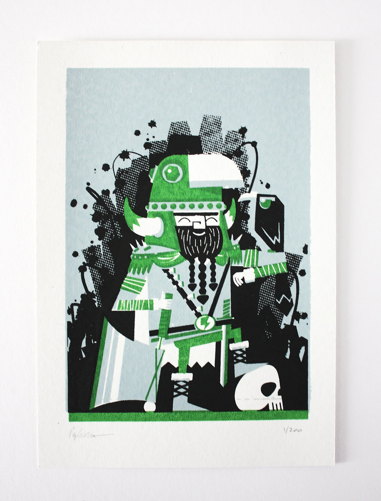 Peskimo print - Soma for Not Another Bill