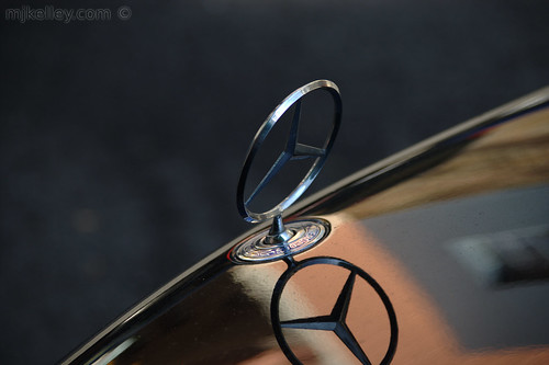 Mercedes' Hood Ornament