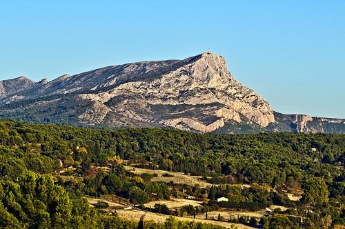 Cezanne Mont Sainte Victoire Seen From Lauves Mont Sainte-victoire as Seen
