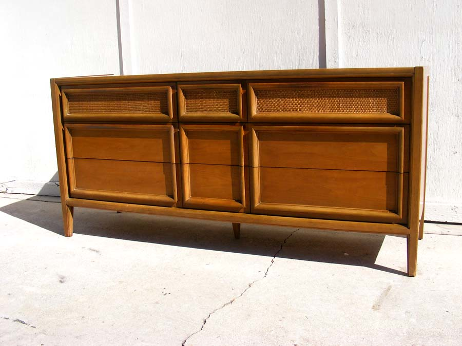 1950's 60's Mid century Solid Credenza / Sideboard / Dresser-$500