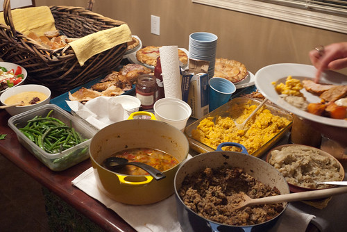 The Spread @ #yycMNSC Thanksgiving