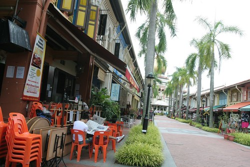 Empty streets, Bugis And Kampong Glam