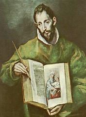 El Greco (+1614), San Lucas evangelista