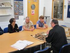 Week 2's animal bone workshop