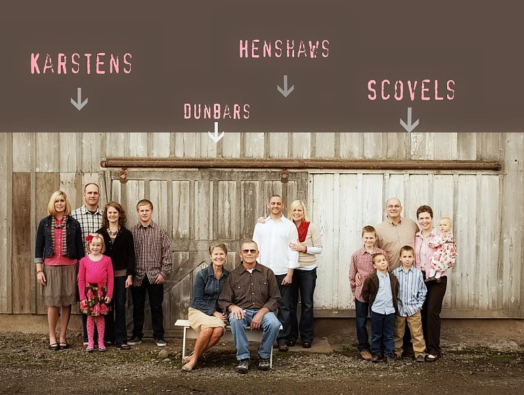 Dunbars, Karsens, Henshaws, Scovels