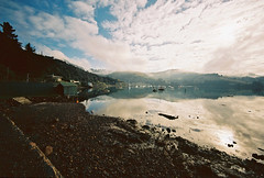 Deborah Bay (@fotodudenz) Tags: new film port island bay kodak south voigtlander bessa wide rangefinder zealand l otago deborah 100 12mm ultra chalmers heliar ektar 2011 nz2011 believeinfilm