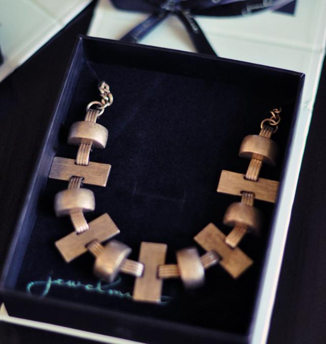 jewelmint brass necklace