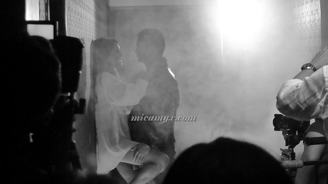 Hot & Steamy scene - literally