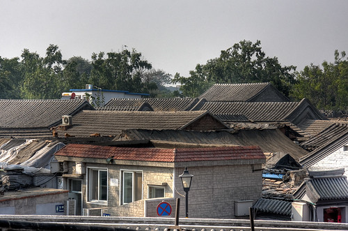 Hutong Roofs, Beijing, China
