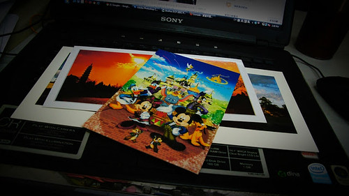 Sending my last Disneyland Postcard