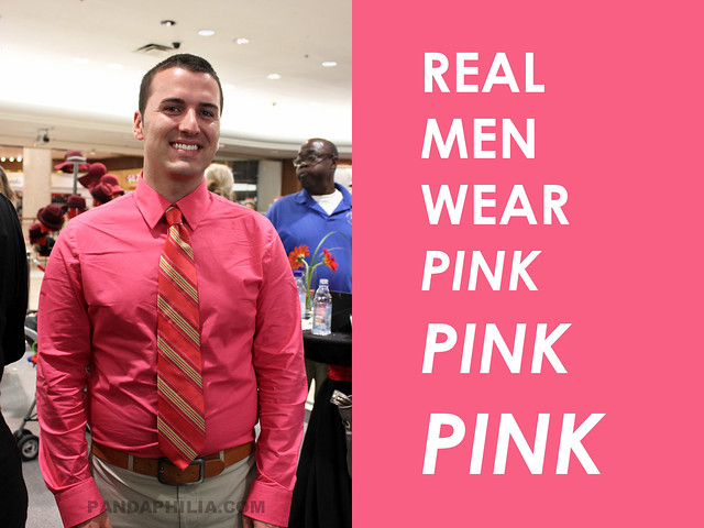 real men wear hot pink