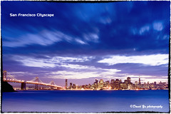 San Francisco Cityscape (davidyuweb) Tags: sanfrancisco california blue usa island twilight san francisco cityscape treasure filter lee moment sfbay sfist gnd