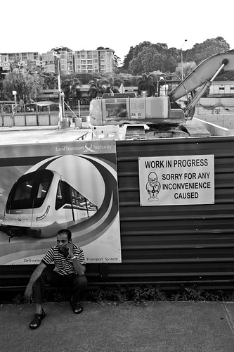 No work today on a Sunday - Little India, Singapore