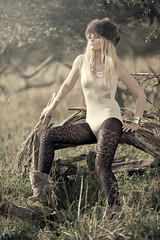 Cathrine 3 (alexanderflemming) Tags: light woman sun nature girl fashion fur nikon warm boots micha alexander flemming cathrine halling kjrgaard d3s