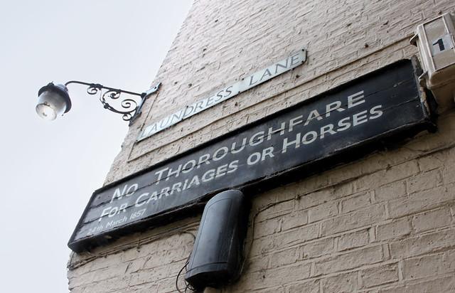 laundress lane, cambridge, england