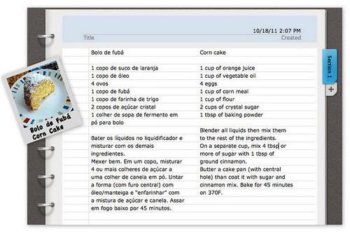 Bolo de Fubá - Corn Cake by Amiguria