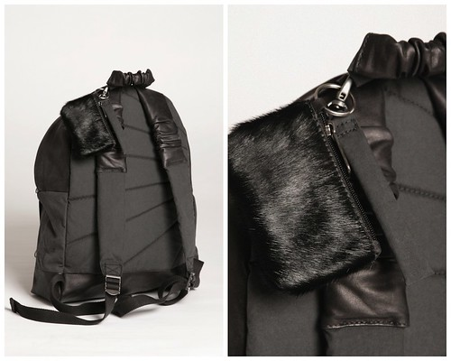 NICOMEDE TALAVERA x EASTPAK - black backpack detail