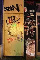 (Stay Gold...) Tags: amsterdam graffiti stickers rk miez scom klozer