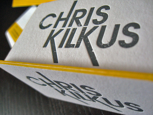 Chris Kilkus Letterpress Suite