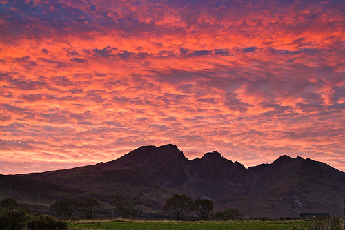Bla Bheinn sunset by amcgdesigns