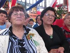 Artesanas de Rari recibiendo el premio Tesoro Huma - 1505763054526