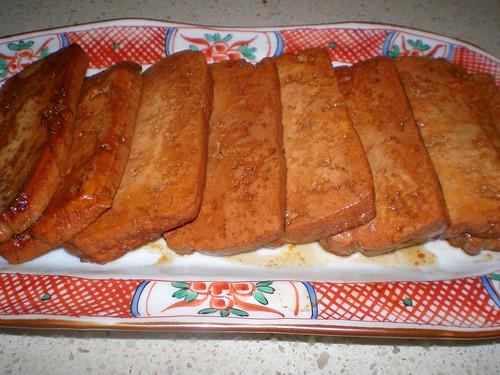 Soy-Glazed Tofu