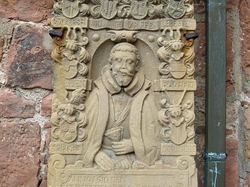 Bad Wildungen, Epitaph an der Stadtkirche