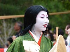 """Sayaka-san as """"Tokiwa Gozen"""" (arumukos) Tags: kyoto maiko geiko kimono gion teahouse yakata maikosan ochaya okiya hanamachi gionkobu geikosan kagai ozashiki sayakasan gionkoubu ochayagame ozashikiasobi tokiwagozen jidaimatsuri2011"""