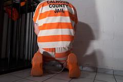 Calhoun_6400 (skinmate) Tags: prison jail shackles prisoner inmate restraints legirons fuseisen