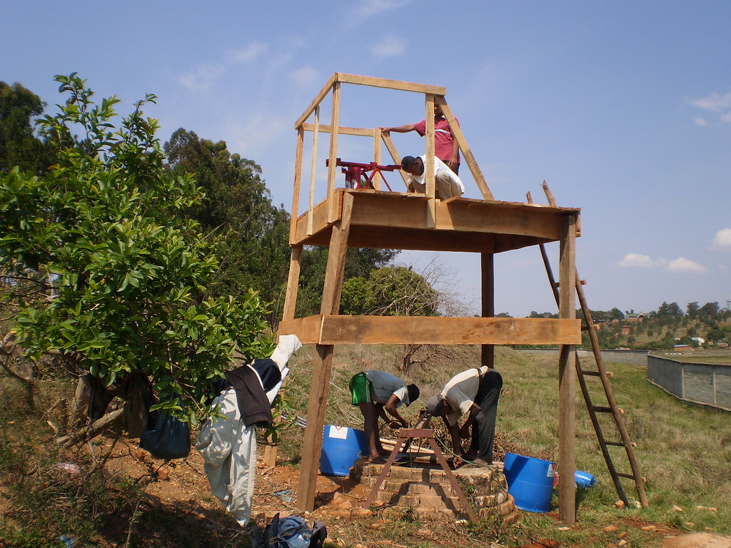 Montage installation irrigation