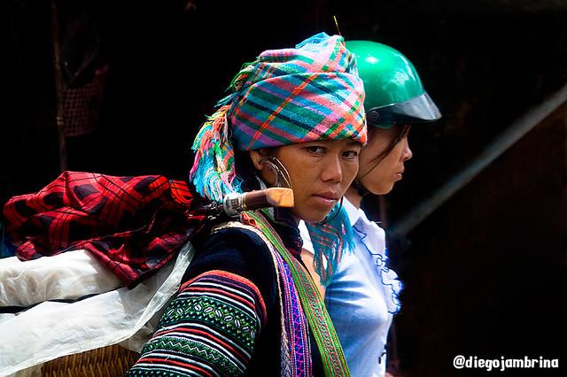 Etnia en Sapa, Vietnam