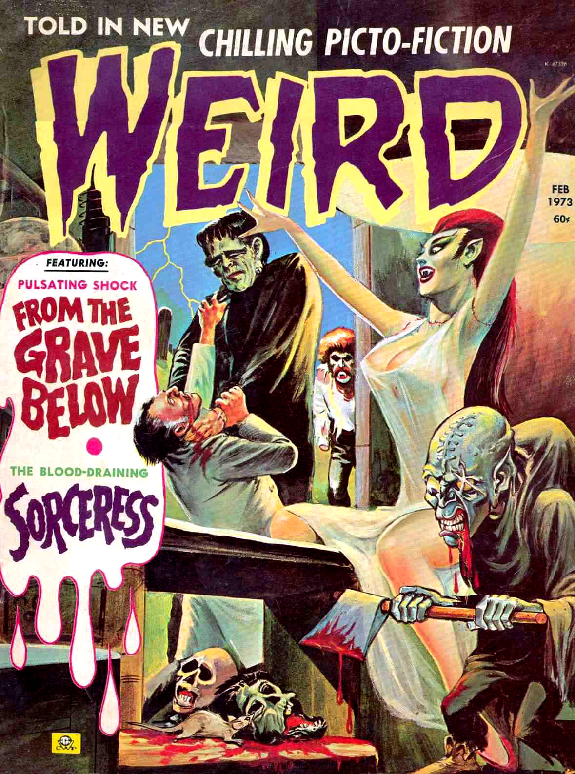 Weird Vol. 07 #1 (Eerie Publications, 1973)