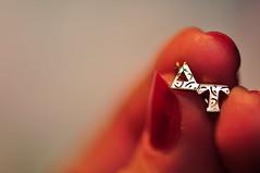 At My Fingertips (fromky) Tags: greek letters jewelry alphabet sorority triangular phimu sooc deltatau dsc7483 scavenger8 ourdailychallenge