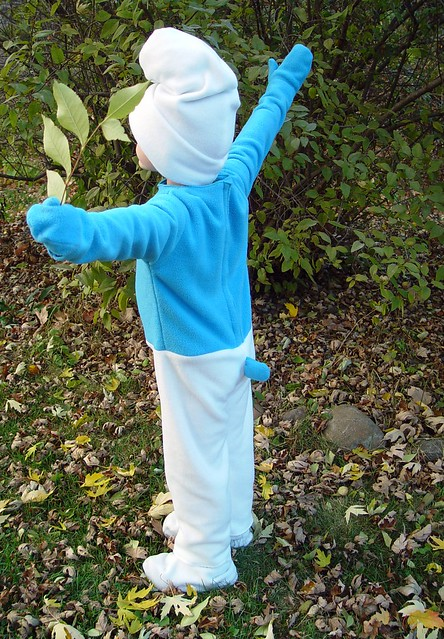 smurf costume, view 5