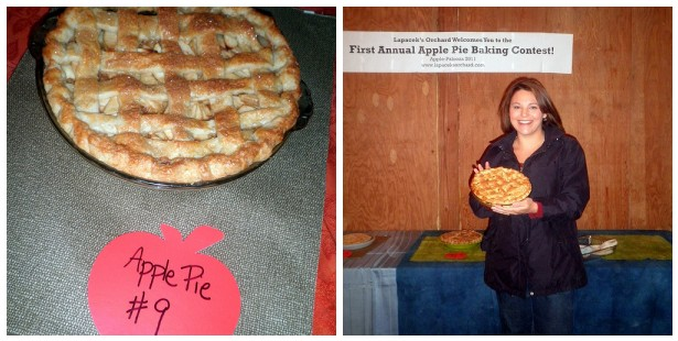 2nd Place Winner for the 2011 Apple-Palooza Apple Pie Baking Contest at Lapacek's Orchard - Carolyn Brown