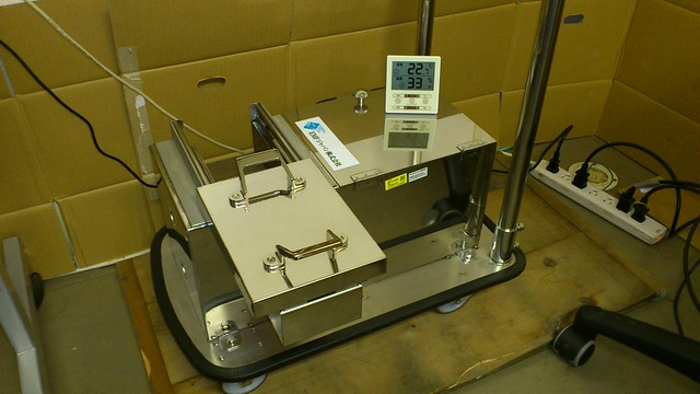 Top of the line radiation tester